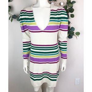 Free People NWT Gidget sweater dress medium